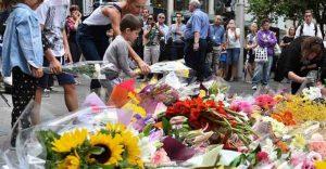 LIndt siege floral tributes